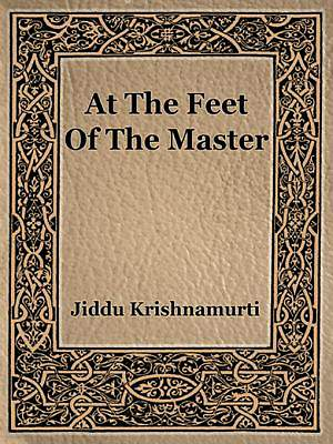 At The Feet Of The Master [Adobe Ebook]