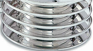 Bread Plate, Silver-Plated Communionware, Stacking