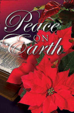 Peace on Earth/Christmas Poinsettia Bulletin 2013, Regular (Package of 50)