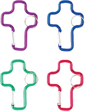 Concordia VBS 2015 Camp Discovery Cross Carabiner (Pack of 12)