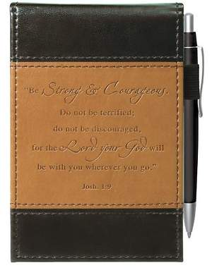 Be Strong - LuxLeather Pocket Notepad