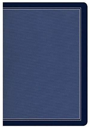 HCSB Compact Ultrathin Bible, Cobalt Blue Leathertouch