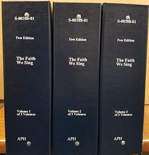 The Faith We Sing Braille Edition Three Volume Set