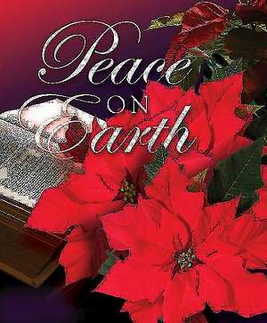 Peace on Earth/Christmas Poinsettia Bulletin 2013, Large Size (Package of 50)