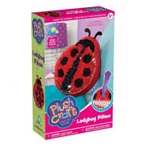 Plush Craft Ladybug Pillow