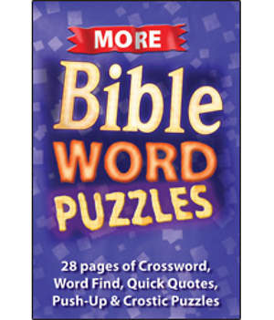 More Bible Word Puzzles