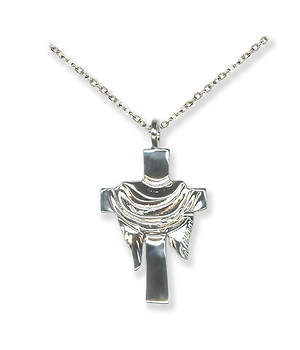 Silver Cross with Pall Pendant