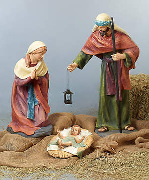 XL Holy Family - 3pc set (tallest figure 40