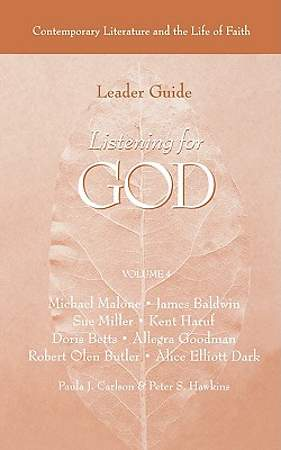 Listening for God Volume 4 Leader Guide