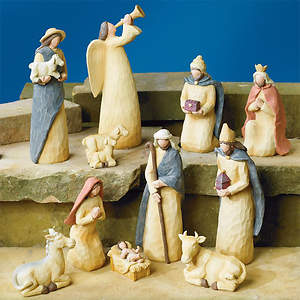 11 Piece Nativity Set - Cokesbury Exclusive