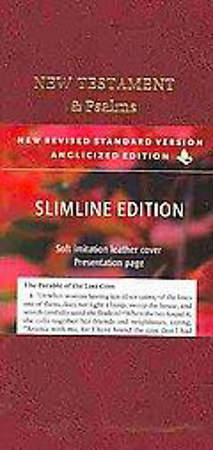 Slimline New Testament & Psalms New Revised Standard Version Anglicized Edition