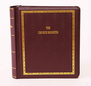 Westminster Church Register Binder Only