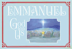 Emmanuel God With Us Boxed Cards