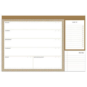Modern Gold Desk Jotter