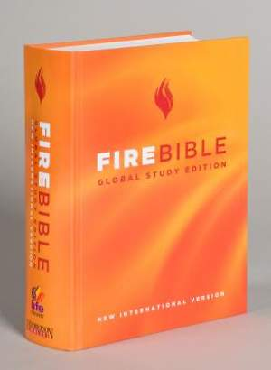 Fire Bible-NIV-Global Study Edition