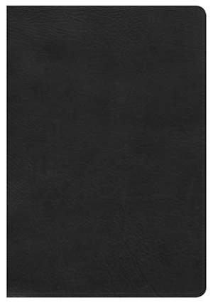 NKJV Large Print Ultrathin Reference Bible, Black Bonded Leather