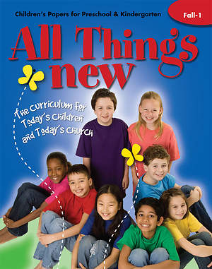 All Things New Fall 1 Children`s Papers (Preschool/Kindergarten)