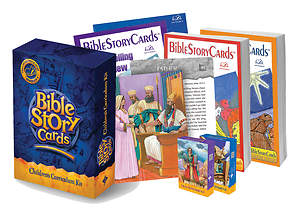 Bible Story Cards Children's Curriculum Kit