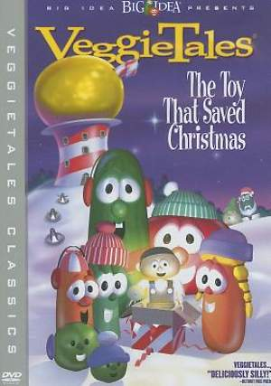 Veggie Tales The Toy That Saved Christmas DVD