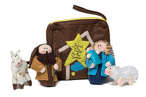 6-piece Plush Nativity Set