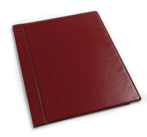 Anthem binder - maroon