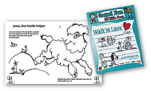 Walk in Love - Gospel Fun for Little Ones Activity Book (12pk)