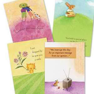 Furry Friends Encouragement Boxed Cards, Box of 12