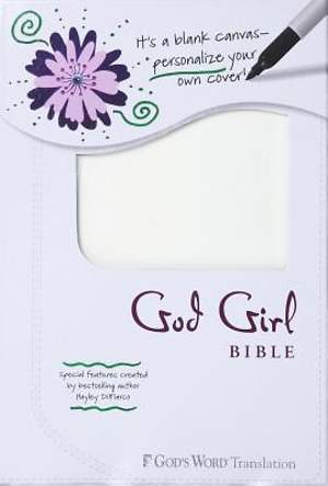 God Girl Bible Snow White, Blank Canvas Design Duravella