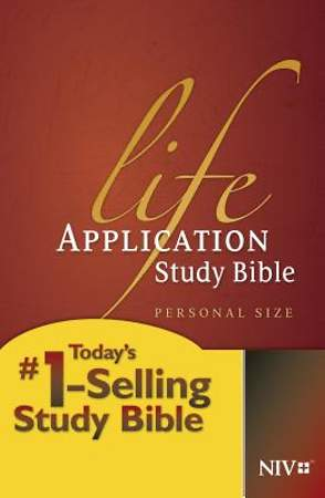 New International Version Life Application Study Bible, Personal Size