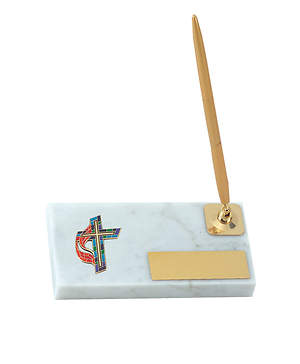 United Methodist Cross Pen Stand