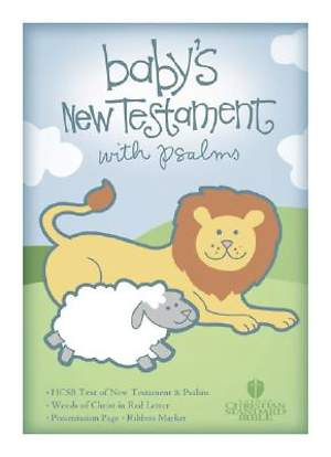 Baby's New Testament with Psalms - HCSB