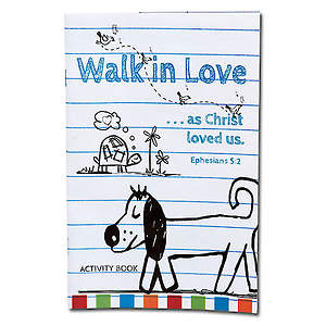 Walk in Love Activity Book (12pk)