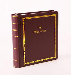 Westminster Church Register Complete Book