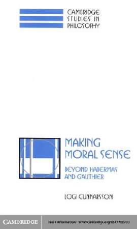 Making Moral Sense [Adobe Ebook]