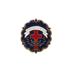 Presbyterian 9 Month Sunday School Attendance Pin