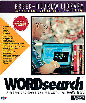 Wordsearch Greek and Hebre with Library