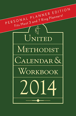 United Methodist Calendar & Workbook 2014 - Personal Planner Edition