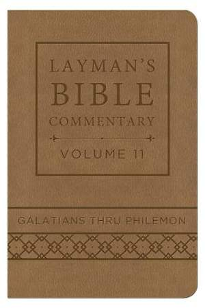Layman's Bible Commentary Vol. 11 (Deluxe Handy Size)