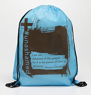 Unashamed Drawstring Backpack