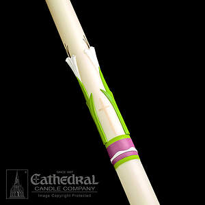 Paschal Candle Easter Glory 51% Beeswax