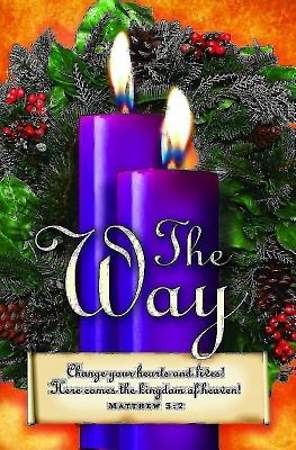 Advent Sunday 2 Purple Bulletin 2013, Regular Size (Package of 50)