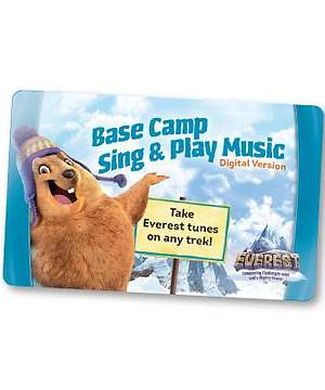 Group Easy VBS 2015 Base Camp Sing & Play Music (Digital Edition) (One card per student)