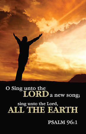 Sing Unto the Lord Bulletin Package of 100