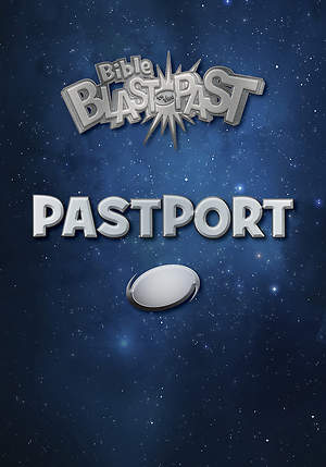 Standard VBS 2015 Blast to the Past PastPort (Pack of 10)