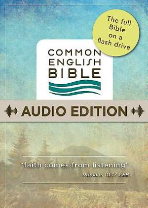 CEB Common English Audio Bible on Flash Drive