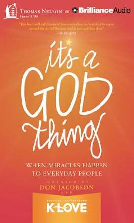 It's a God Thing Audiobook - MP3 CD