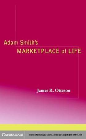 Adam Smith's Marketplace of Life [Adobe Ebook]