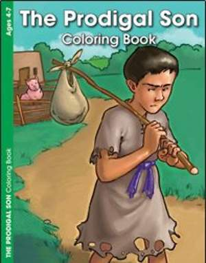 The Prodigal Son - Coloring and Activity Book E4690