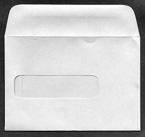 Stewardship Commitment Window Envelope Package of 100