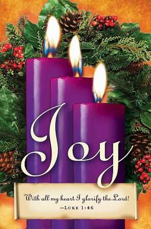 Advent Sunday 3 Purple Bulletin 2013, Regular Size (Package of 50)